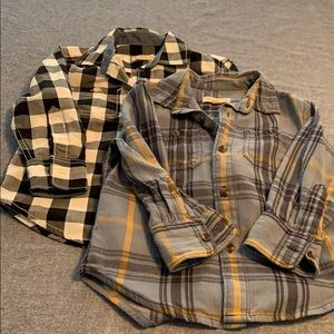 Set of 2 Tucker & Tate button down shirts. Size 2t